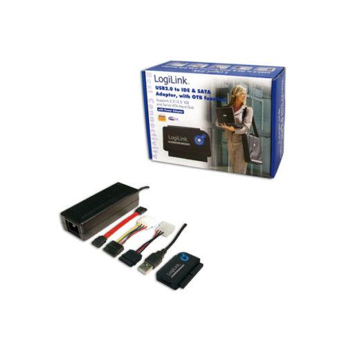 LOGILINK USB2.0 TO IDE & SATA ADAPTER & OTB FUNCTION